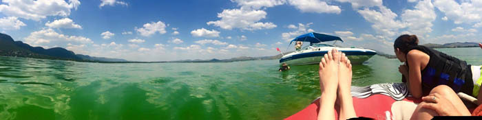 Boat Cruise on Hartbeespoort Dam Photo by: Cassidy Coombs